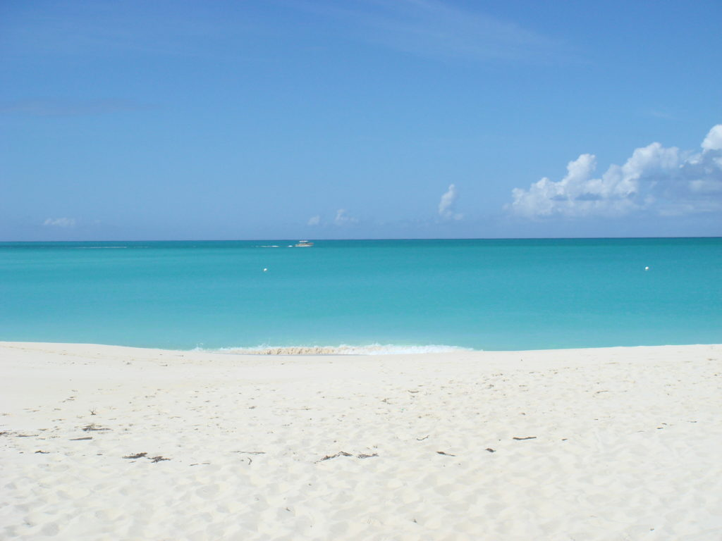 secluded beach Providenciales