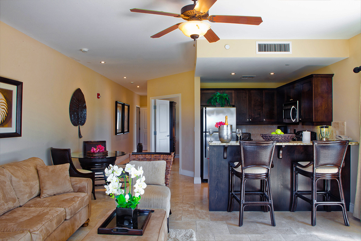two bedroom suite. With nine  two bedroom suites available couples and families visiting sunny Provo will find plenty of space within elegant surroundings Turks Caicos Resort Two Bedroom Suites