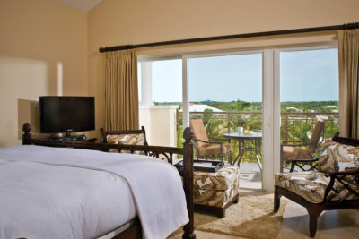 The Master Bedroom in our luxury penthouse suite.