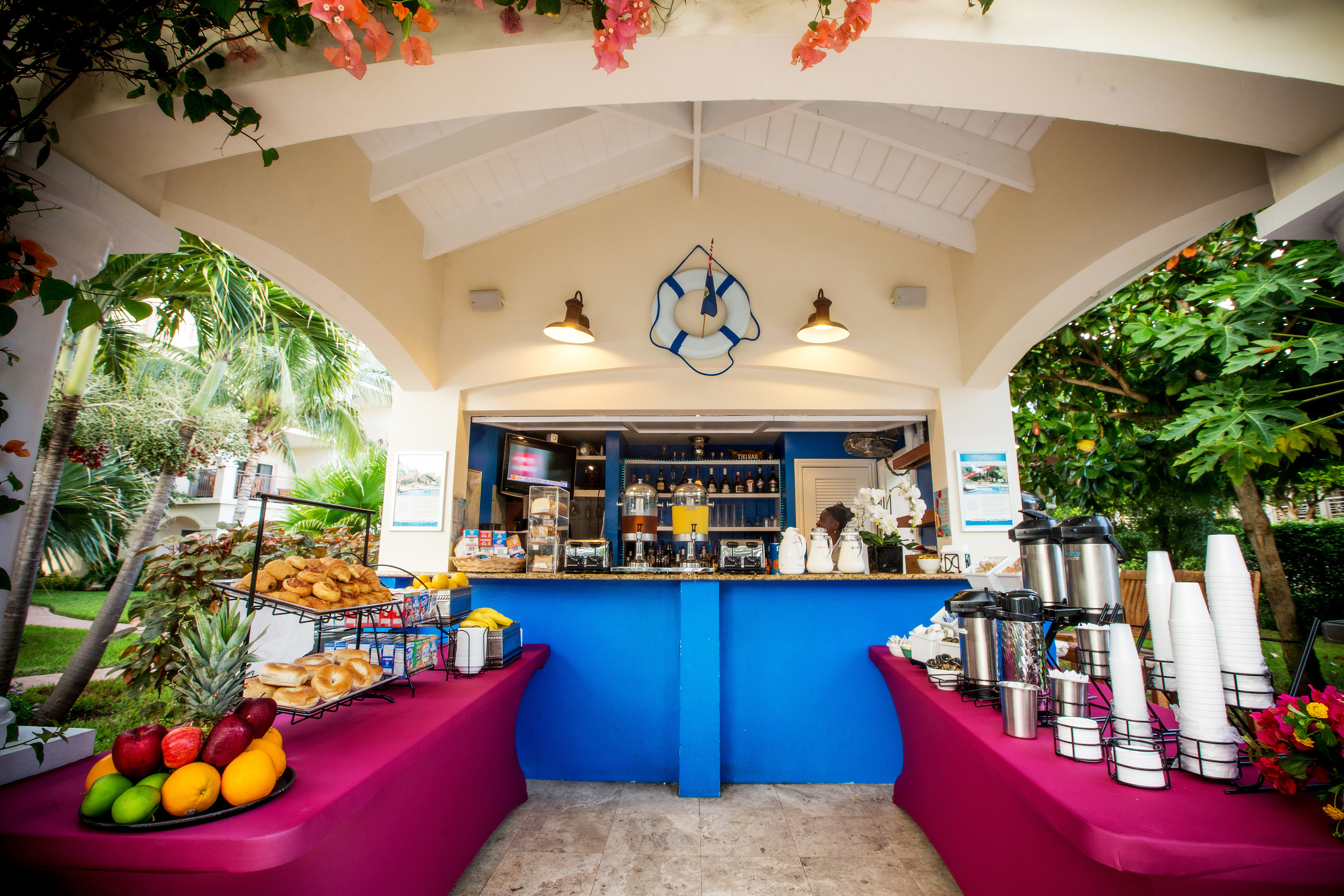 Complimentary breakfast Providenciales