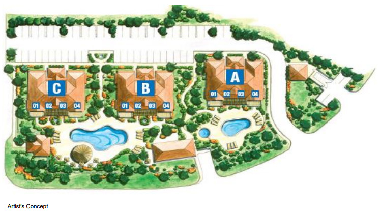 Villa del Mar Site Plan, Providenciales, Turks and Caicos