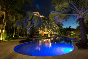 providenciales hotel at night