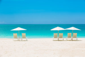 Enjoy Grace Bay Beach's White Sand and Aquamarine Waters